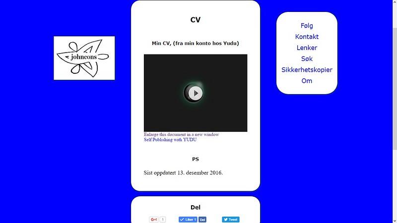 cv webside 3