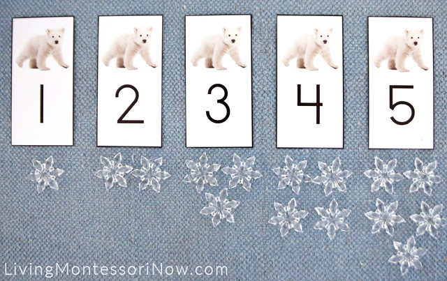 Polar Bear Cards and Counters Layout