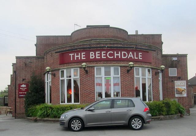 Art Deco Pub, Nottingham, England