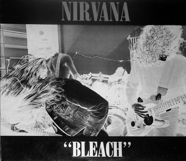 "NIRVANA BLEACH 12"" LP Vinyl Gramophone Record"