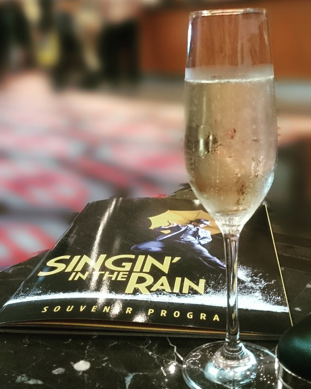 Singin' in the Rain opening night Perth Crown Theatre
