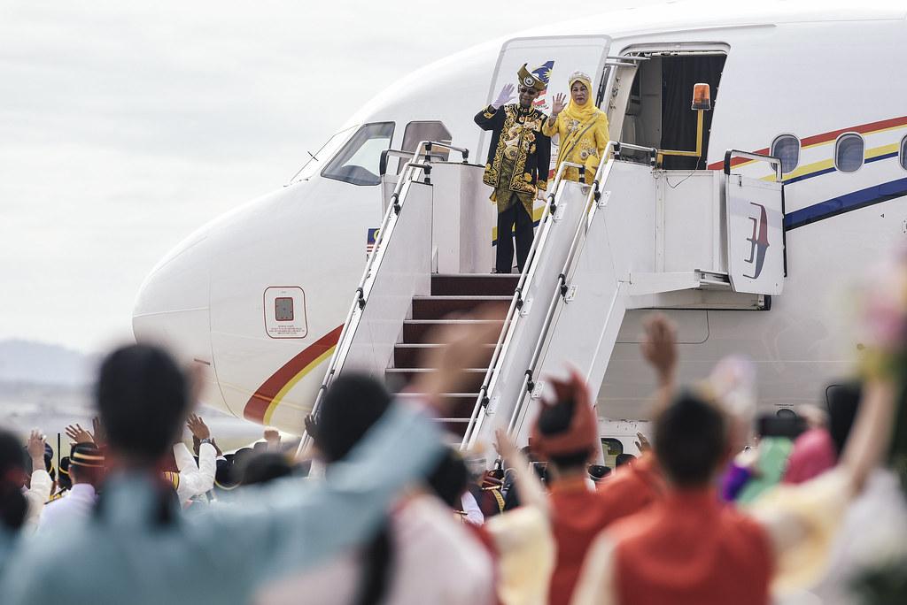 Malaysia King Farewell | Tuanku Abdul Halim Mu'adzam Shah and Tuanku Hajah Haminah