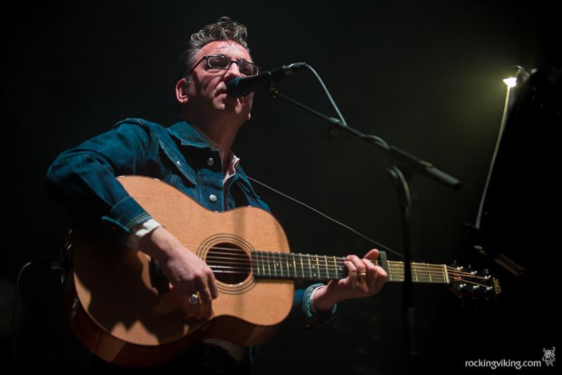 Richard Hawley performing at Sheffield City Hall on December 5, 2016