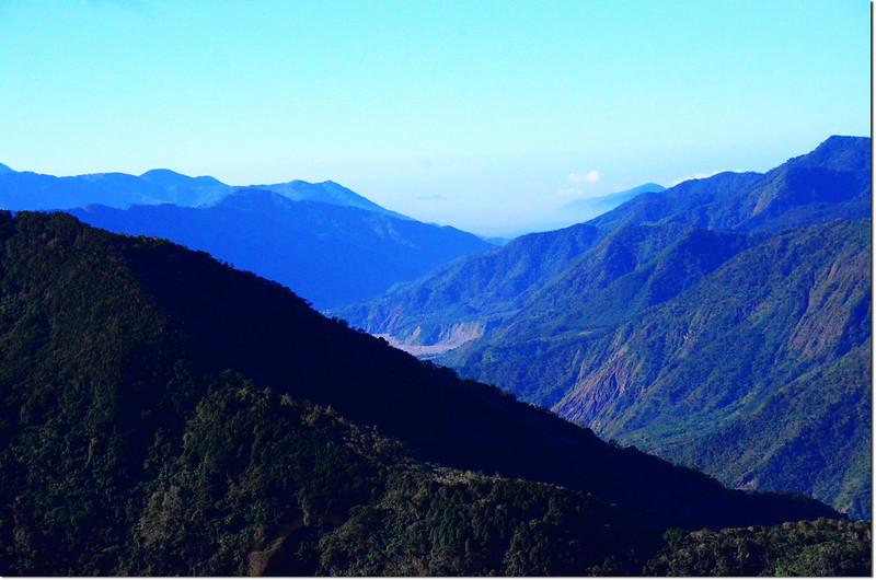 馬馬宇頓稜線(1750)南眺