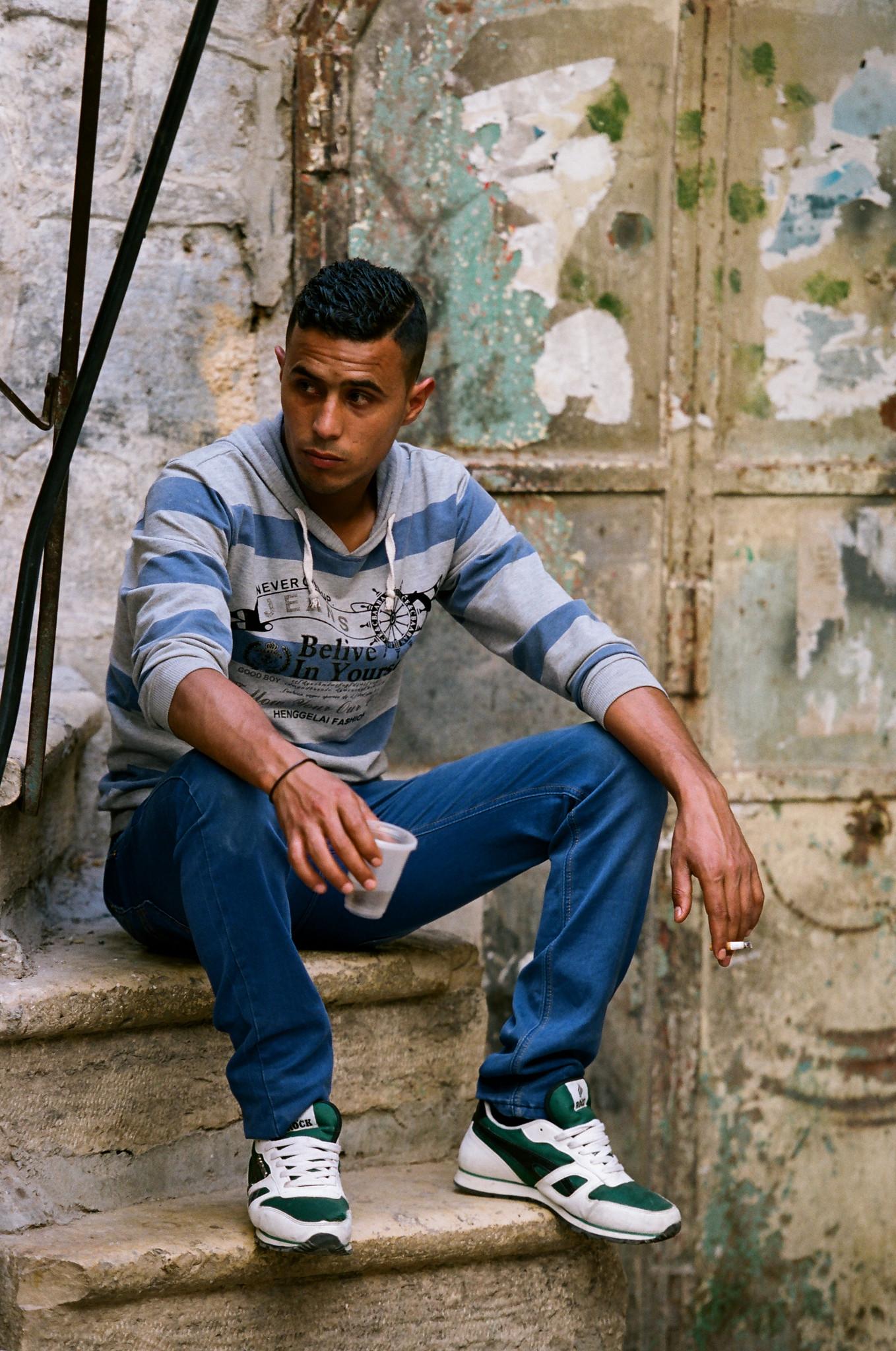 Hebron Street Portrait