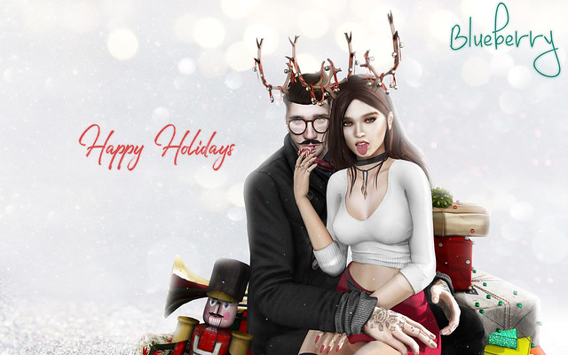 Blueberry Holiday Gifts & Jolly Holiday Crawl & Snowball Showdown by Second Life