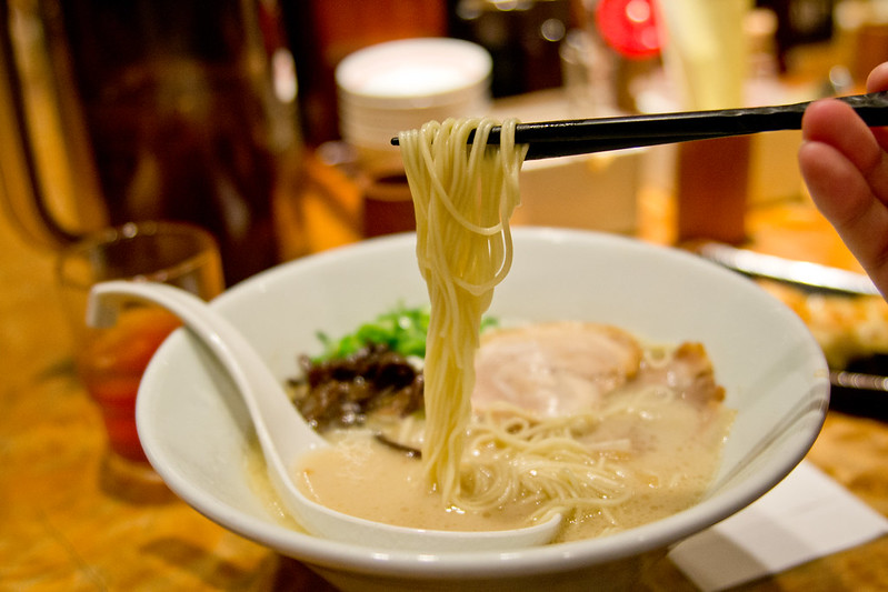 Ramen at Ippudo, Kyoto, Japan | packmeto.com