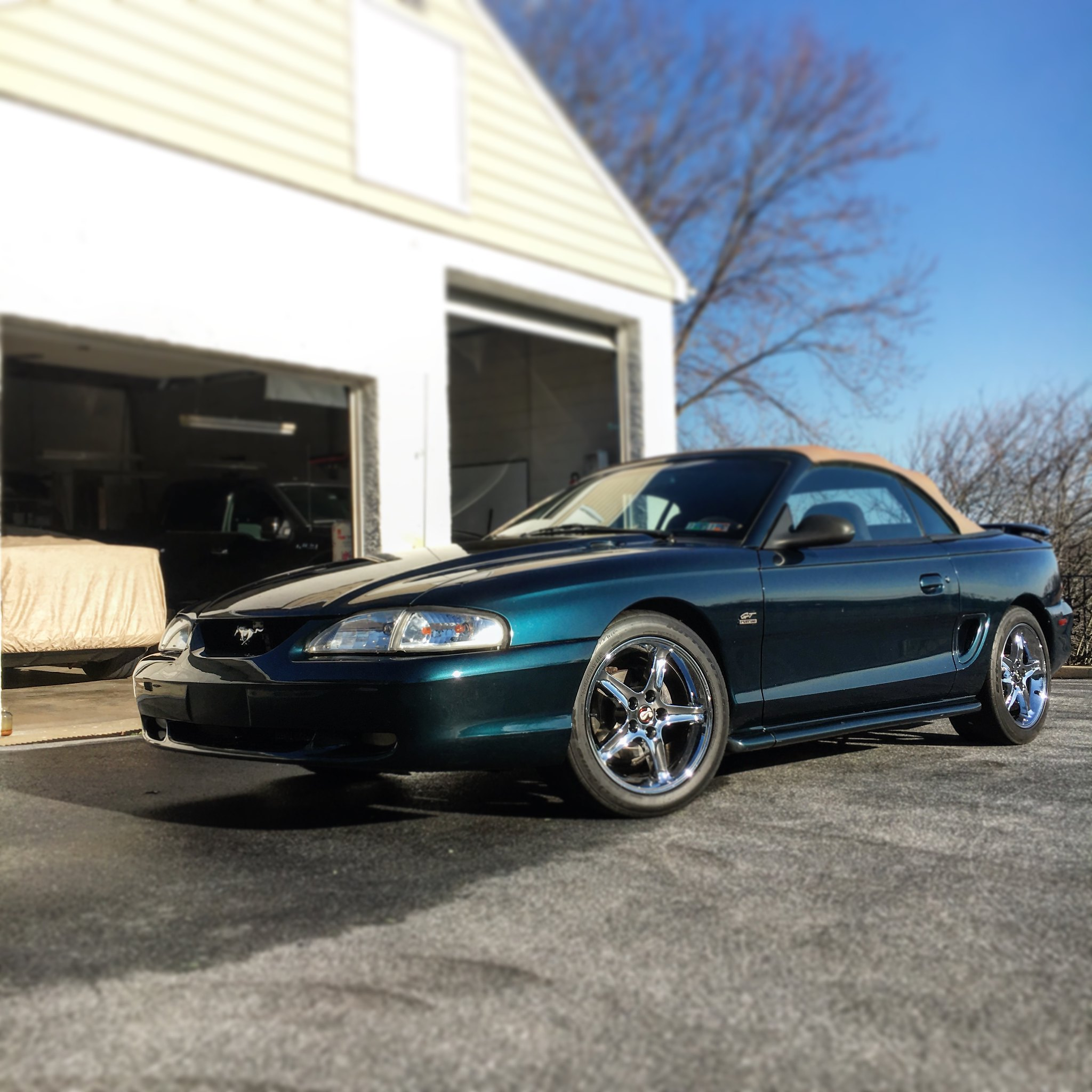 For Sale 95 GT Auto DFG Vert
