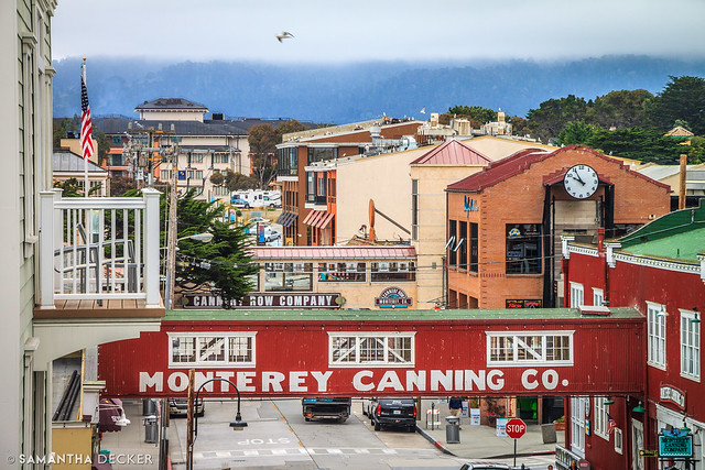 Cannery Row as Seen from the Clement Monterey