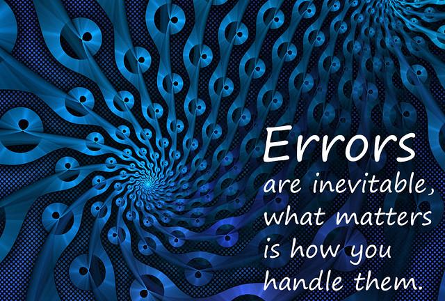 Errors...
