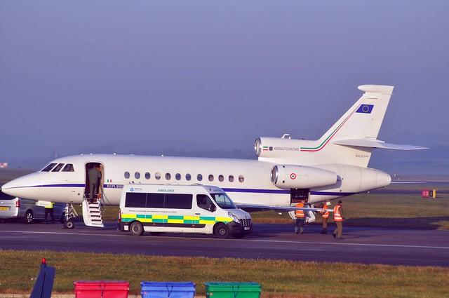Italian Air Force Dassault Falcon 900EX EASy MM62244 Cwl