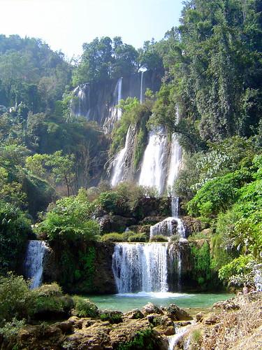 Thi Lo Su Waterfall, Tak Province, Thailand