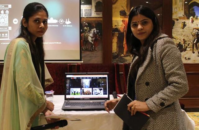 Anida Saifi and Isha Fatima