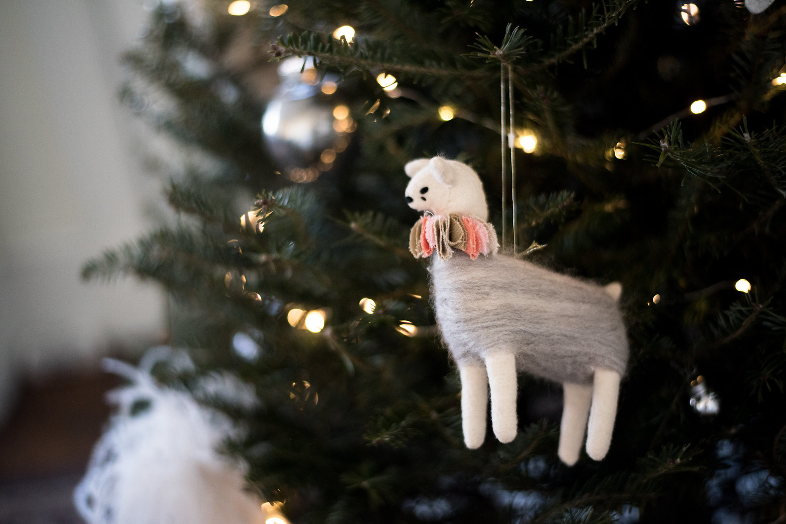 Llama Ornament on juliettelaura.blogspot.com