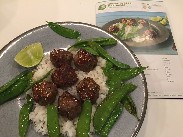 Hoisin Glazed Meatballs