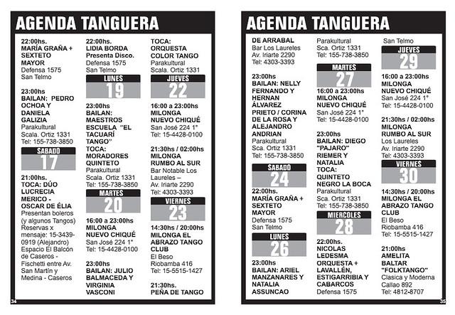 Revista Punto Tango 122 Diciembre 2016 - 18