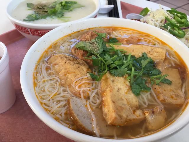 Bún Riêu and Chao Ga