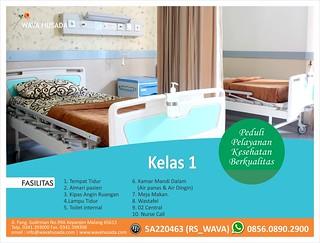 gambar ruang kelas 1 RS Wava Husada