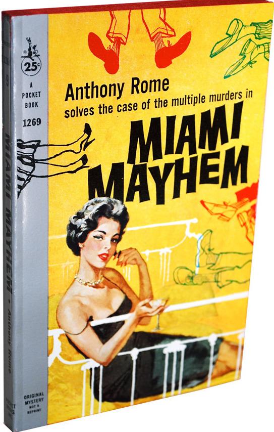 Miami Mayhem - Book Cover