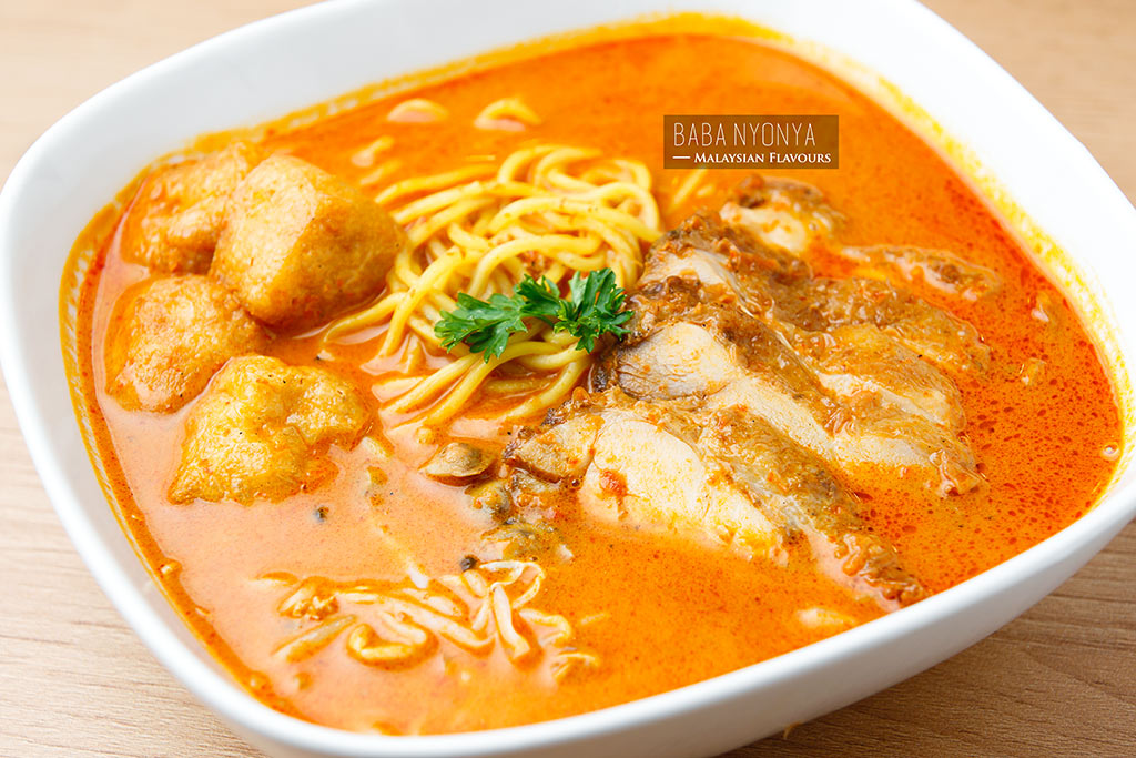 Baba Nyonya Avenue K curry mee