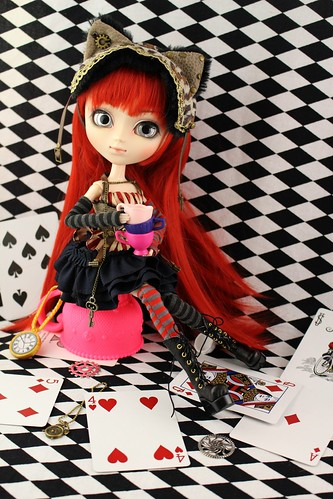 Pullip Cheshire Cat in Steampunk World