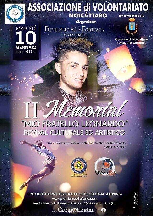 Noicattaro. Memorial Leonardo Epifanio intero