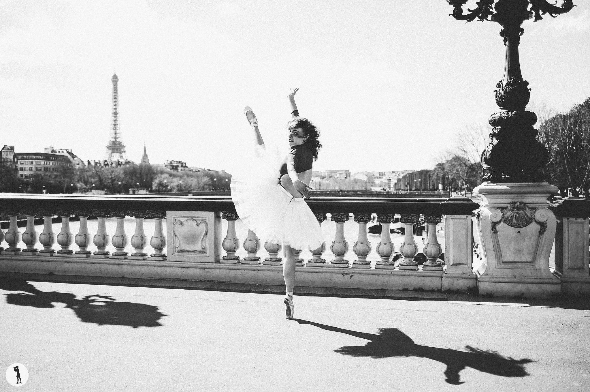 Ballet dancers from Opera de Paris School