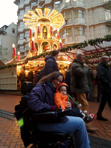At Birmingham Christmas Market