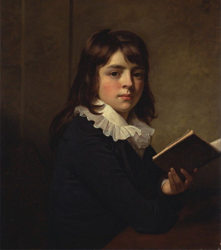 William Beechey - Portrait of a Boy (c.1790)