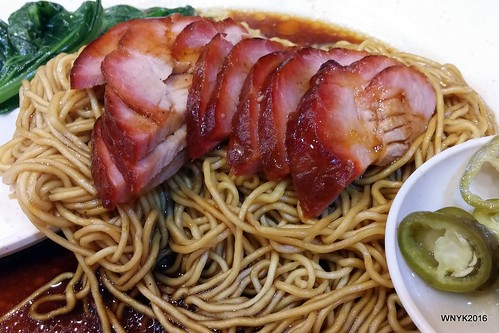 Wantan Noodles with Charsiew
