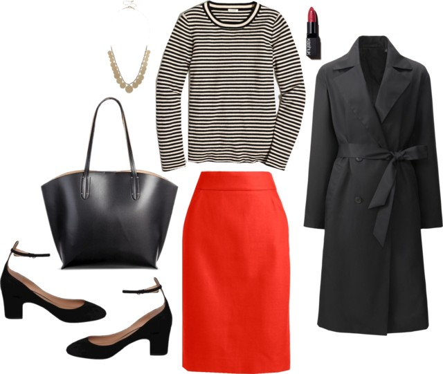 What I Wish I Wore, Vol. 166 - Orange You Glad For Stripes | Style On Target blog
