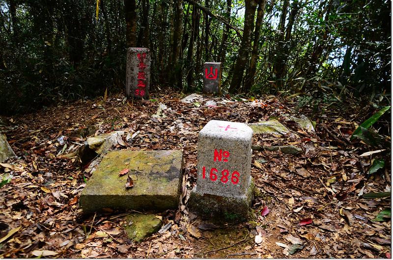卓武山二等三角點、森林三角點及基盤、高屏溪水源保護區界 2