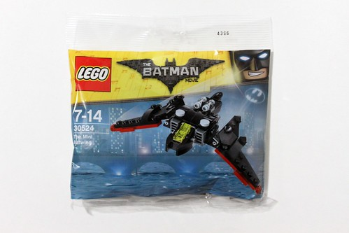 The LEGO Batman Movie The Mini Batwing (30524)