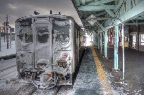 Nayoro Station on JAN 07, 2017 (1)
