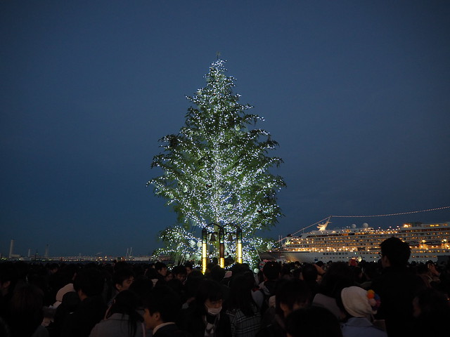 Yokohama City Night at Christmas Eve 2016 (16)