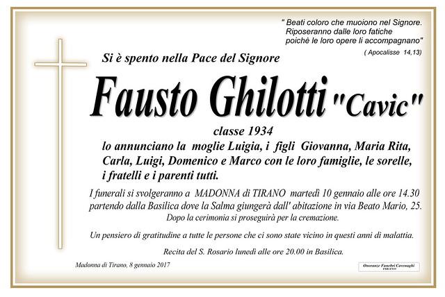 Ghilotti Fausto