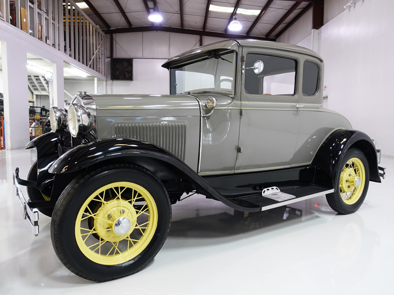 1931 FORD MODEL A RUMBLE SEAT SPORT COUPE