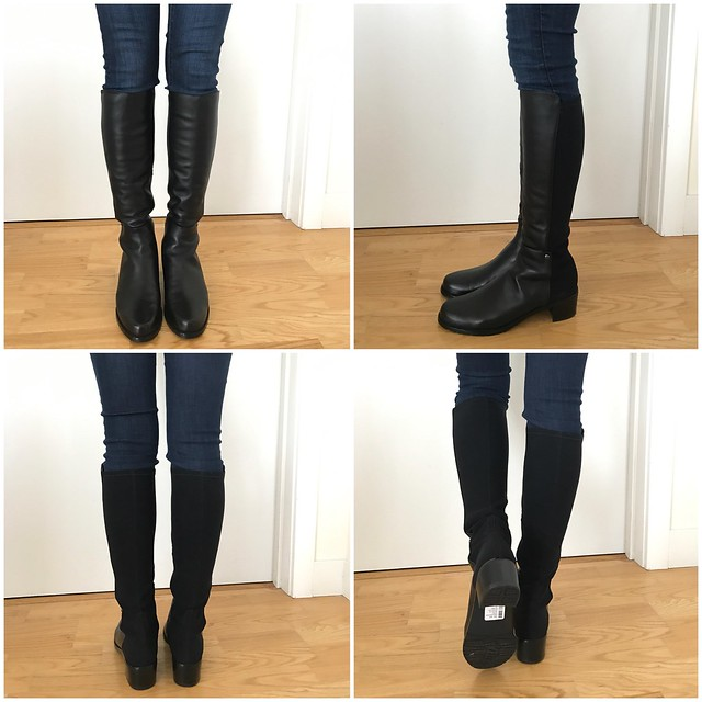 Stuart Weitzman Mezzaluna Tall Leather Boots