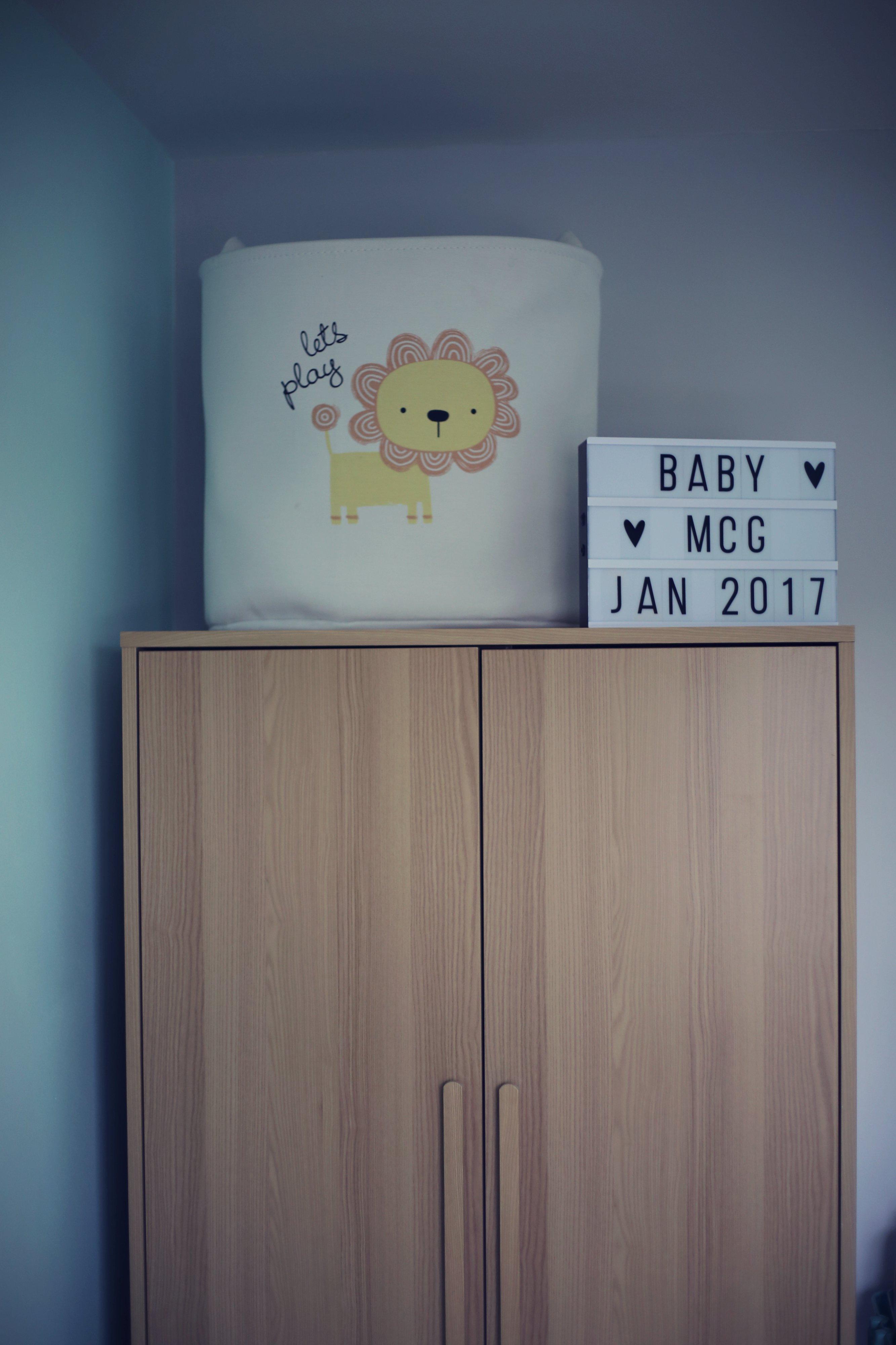 scandi nursery style