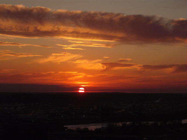 Sunset - Tulsa, Oklahoma