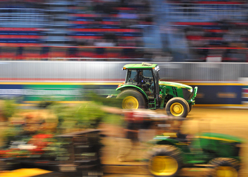 Slow-shutter tractor panning - why not?