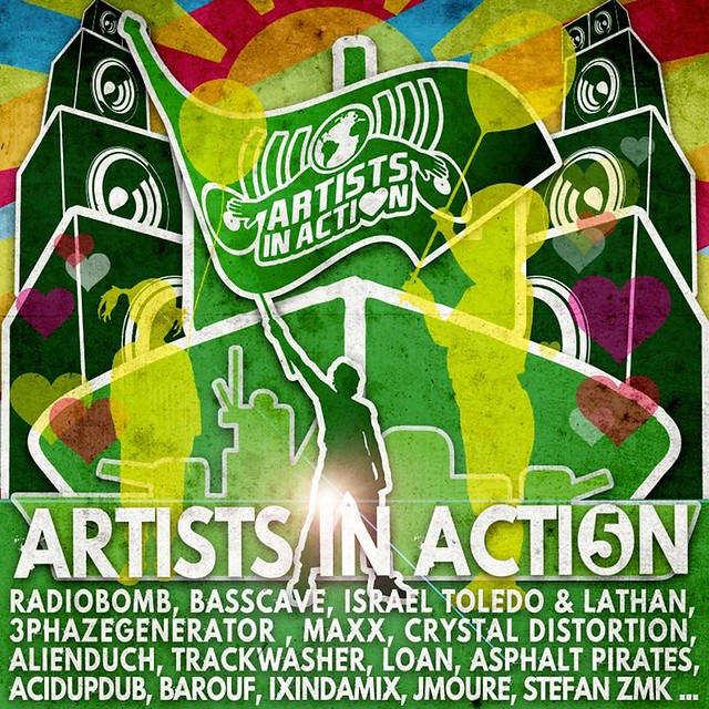 Artists in action cd