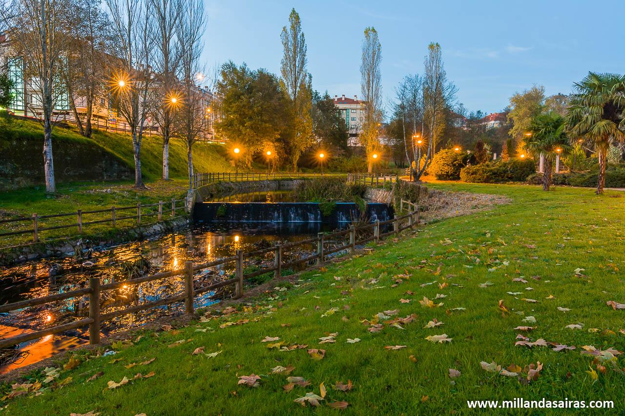 Senda fluvial del río Pontiñas