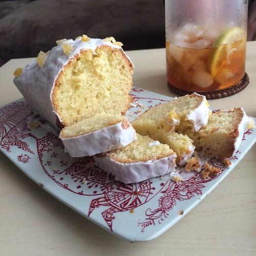 Cake au citron cake au citron glacage et zeste de for Decoration zeste de citron