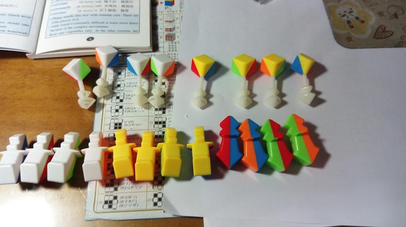 五階魔方組裝教學1