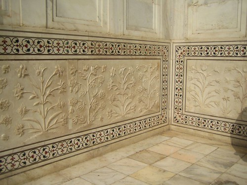 Taj Mahal inlaid precious stones and carved marble | by aplumb