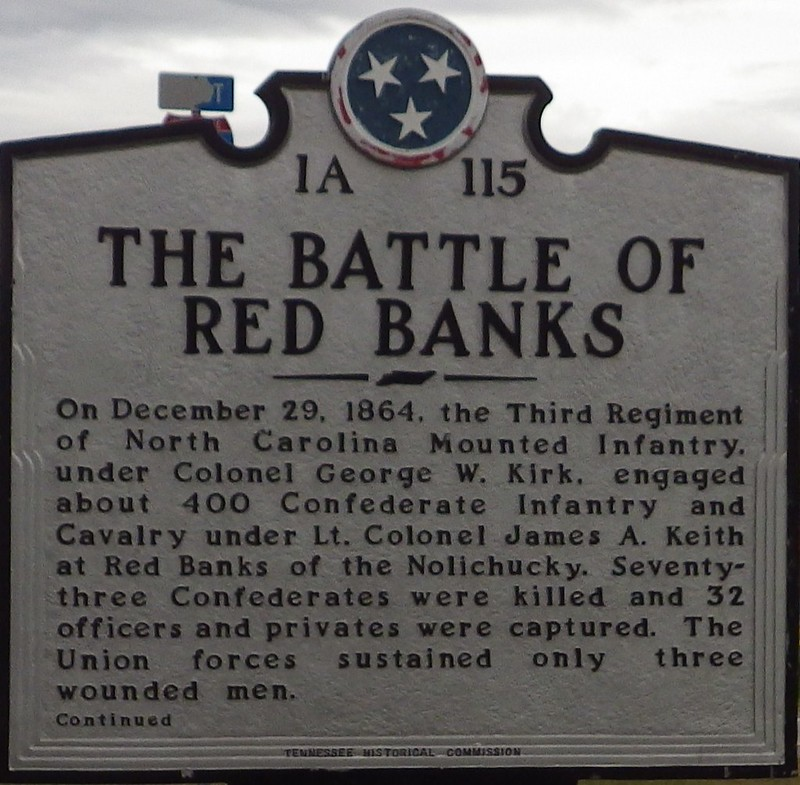 Tennessee Historical Marker 1A 115