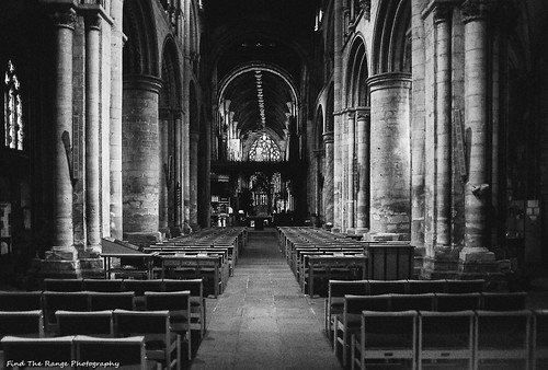 Selby Abbey Aisle