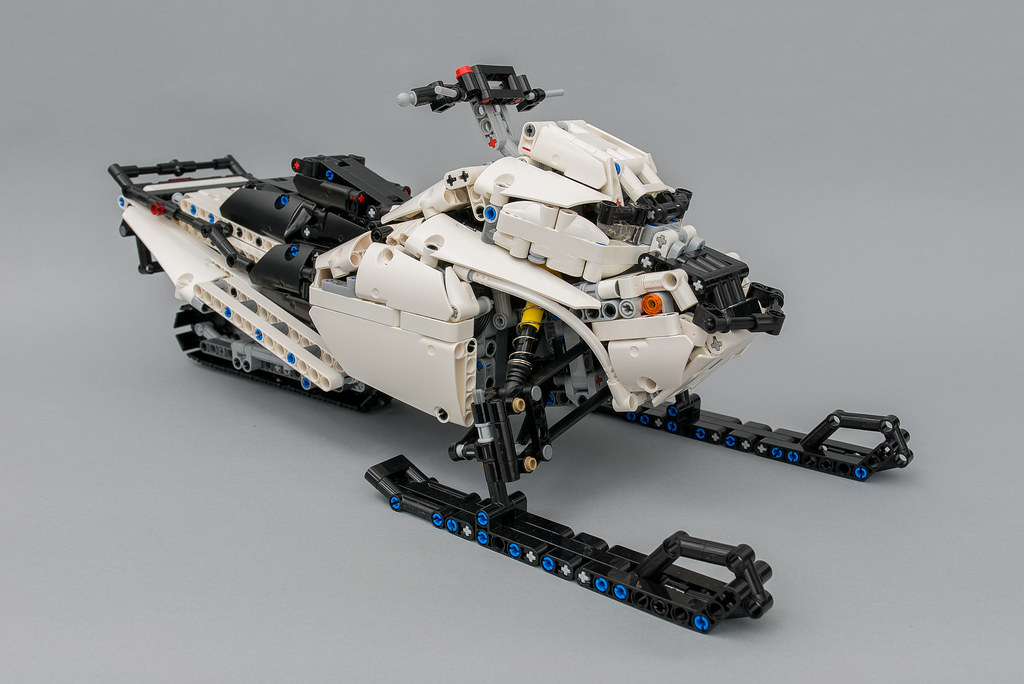 Moc Snowmobile With Sbrick Lego Technic And Model Team