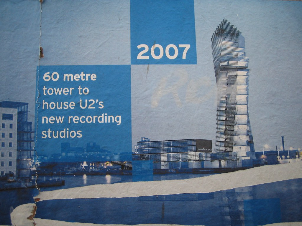 New U2 recording studio poster (update: design has changed)